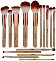 15 pc,Morphe Professional Cosmetic Makeup Brush Set Eyeshadow Foundation Brushes