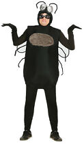 Adult Fly Costume & Bug Eyes Big Silly Insect Fancy Dress Halloween Outfit NEW