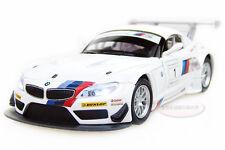 New 1:32 BMW Z4 GT3 Alloy Diecast Vehicle Car Model Toy Sound&Light White 2300