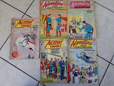 LOT OF 5 ACTION COMICS SUPERMAN