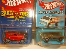 HOT WHEELS SUPER CHROMES BYE FOCAL AND EARLY TIMES 34 FORD DELIVERY