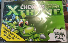 Chewits Xtreme Sour Sweets Sour Apple Flavour Full Case Free Tracked Delivery