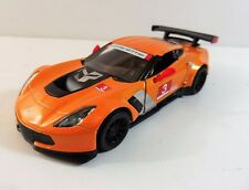CORVETTE C7R 2016 ORANGE 1/38 Métal/Die-Cast NEUF