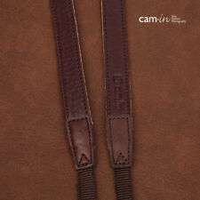 Brown Leather Adjustable DSLR Camera Strap by Cam-in