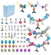 Bracelet Making Kit for Girls, DIY Charm Bracelets Kit , Jewelry Charms