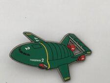 thunderbirds 1992 plastic pin badge