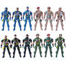 Military Playset Special Force Action Figures Kids Toy Plastic 9cm Soldier M  LD