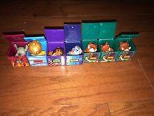 1995 Burger King Kids Club Toys Disney The Lion King Set of 7 Finger Puppets