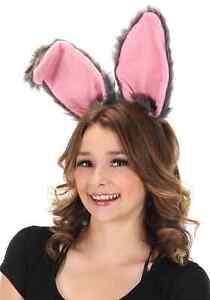 Bendy Bunny Ears Headband Gray