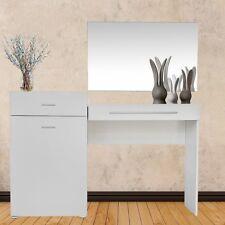 Schminktisch Schreibtisch Frisierkommode Kosmetiktisch Weiß Schrank Sekretär