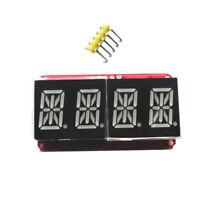 "1/2"" 4 bit Digital LED Display Module I2C For Arduino 14 Seg Red+Orange"