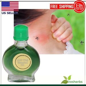 MOSQUITO REPELLENT LIQUID RELIEVE PAIN ANTI-ITCH ESSENTIAL BALM COOL REFRESHING