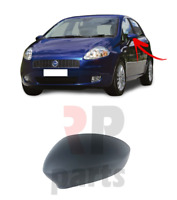 FOR FIAT GRANDE PUNTO 05-12, PUNTO 12-18 NEW WING MIRROR COVER CAP LEFT N/S