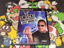 WWF SmackDown Just Bring It (Sony PlayStation 2, 2002) Tested
