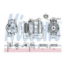 Fits BMW X5 E70 3.0 sd Genuine OE Quality Nissens A/C Air Con Compressor