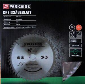 Parkside Handkreissägeblatt 48 Zähne 210 Kreissägeblatt Handkreissäge Sägeblatt