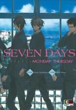 SEVEN DAYS volumi 1-2 [di 2] ed flashbook manga MONDAY-THURSDAY FRIDAY-SUNDAY