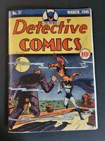 Detective Comics # 37  Golden Age Replica Edition ☆☆☆☆