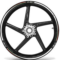 STRISCE ADESIVE compatibili per MOTO YAMAHA XJ6 adesivi CERCHI 17' tuning RACING