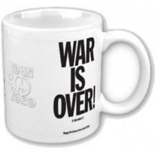 JOHN LENNON WAR IS OVER - MUG (11OZ)  (BRAND NEW IN BOX)