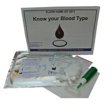 2 x Eldon Blood Group/Type Home Test/Testing Kits