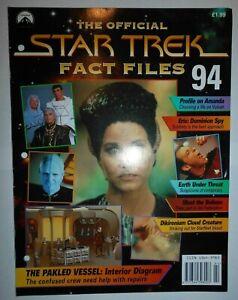 L'Officiel Star Trek Faits Fichiers #94