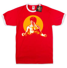 Bruce Lee inspired Martial Arts T-Shirt MMA Boxing unofficial ringer Tee NEW