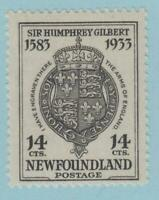 NEWFOUNDLAND 221  MINT HINGED OG *  NO FAULTS VERY  FINE !