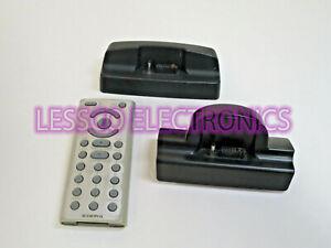 Sirius XM Satellite Radio Audiovox Xpress XMH10 / XMC-10 + Remote Combo Kit Lot