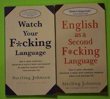 2 books - Watch Your F*cking Language & English as a Second F*cking Language LN