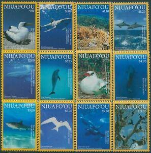 Niuafo'ou 2016 SG443-454 Ocean Wildlife set MNH