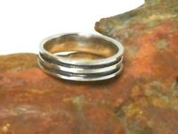Sterling Silver 925 RING / Band -  Gift Boxed