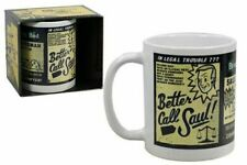 Official Breaking Bad BETTER CALL SAUL 11oz. Boxed Ceramic Mug NEW & IN STOCK