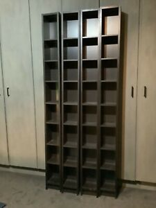 ikea shelving units x4 Black/Brown excellent condition