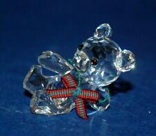 Swarovski Original No1 1993 Kriss Bear Cut Silver Crystal Ornament