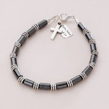 Boys Personalised Bracelet with Any Engraving! First Holy Communion Gift for Boy
