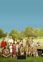 MOONRISE KINGDOM Movie PHOTO Print POSTER Textless Film Art Wes Anderson 001