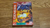 Super Rare SEGA Genesis Aladdin Game Korean Import Version Mega Drive