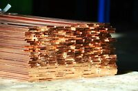Copper Flat Bar Plate Strip Many sizes and lengths Coper Metal Section Rod