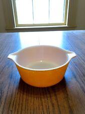 Pyrex orange 1-1/2 pt dish