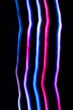 PiBW LED Glove Set Rave Lights Dance Gloves Halloween Christmas Gift New Years