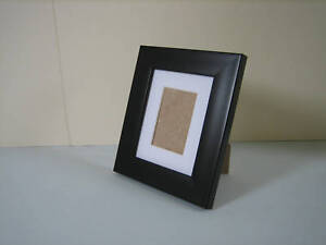 Black 4x5 Picture Photo Frame Mount 2x3 hang Stand