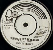 "BAY CITY ROLLERS summerlove sensation/bringing back the good times 7"" WS EX-/"