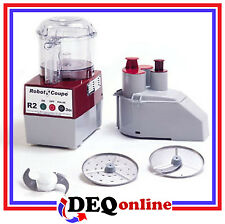Robot Coupe R2N CLR Food Processor - Includes 2 Discs and even more Accessories!