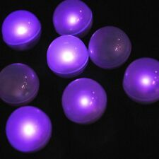 Fortune Products Fairy Berries Purple LED Round Lights 10 Pack Party Home Decor