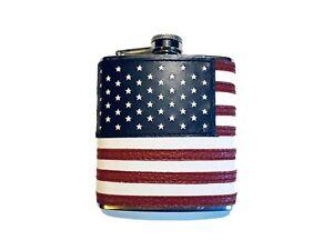 "6 oz ""The Patriot"" American Flag Flask"