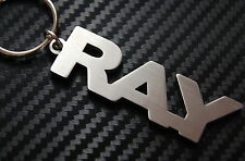 RAY Personalised Name Keyring Keychain Key Fob Bespoke Stainless Steel Gift
