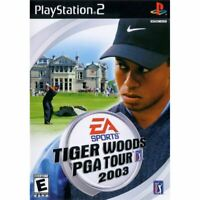 Tiger Woods PGA Tour 2003 - PlayStation 2 (PS2) Game *CLEAN VG