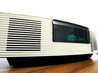 Bose WAVE MUSIC-SYSTEM CREAM RADIO/ALARM CD/MP3 FM/AM AUX TOP ! #F1