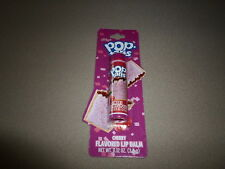 .12 Oz. Kelloggs Cherry Pop Tarts Flavored Lip Balm By Lotta Luv, NEW IN PACKAGE